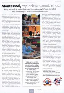 Szkoła Podstawowa Montessori, czyli szkoła samodzielnośći